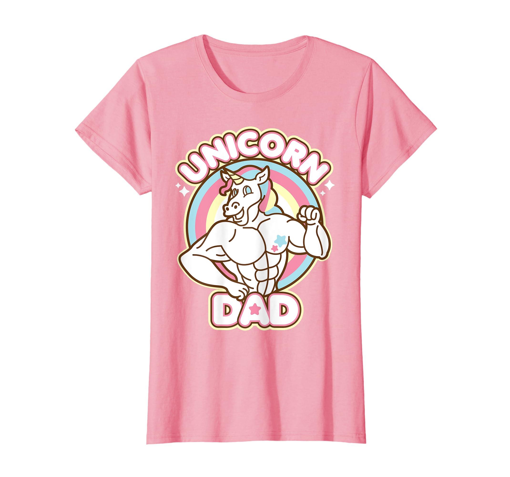 Unicorn Dad Shirt Father's Day Birthday Gift-Yolotee