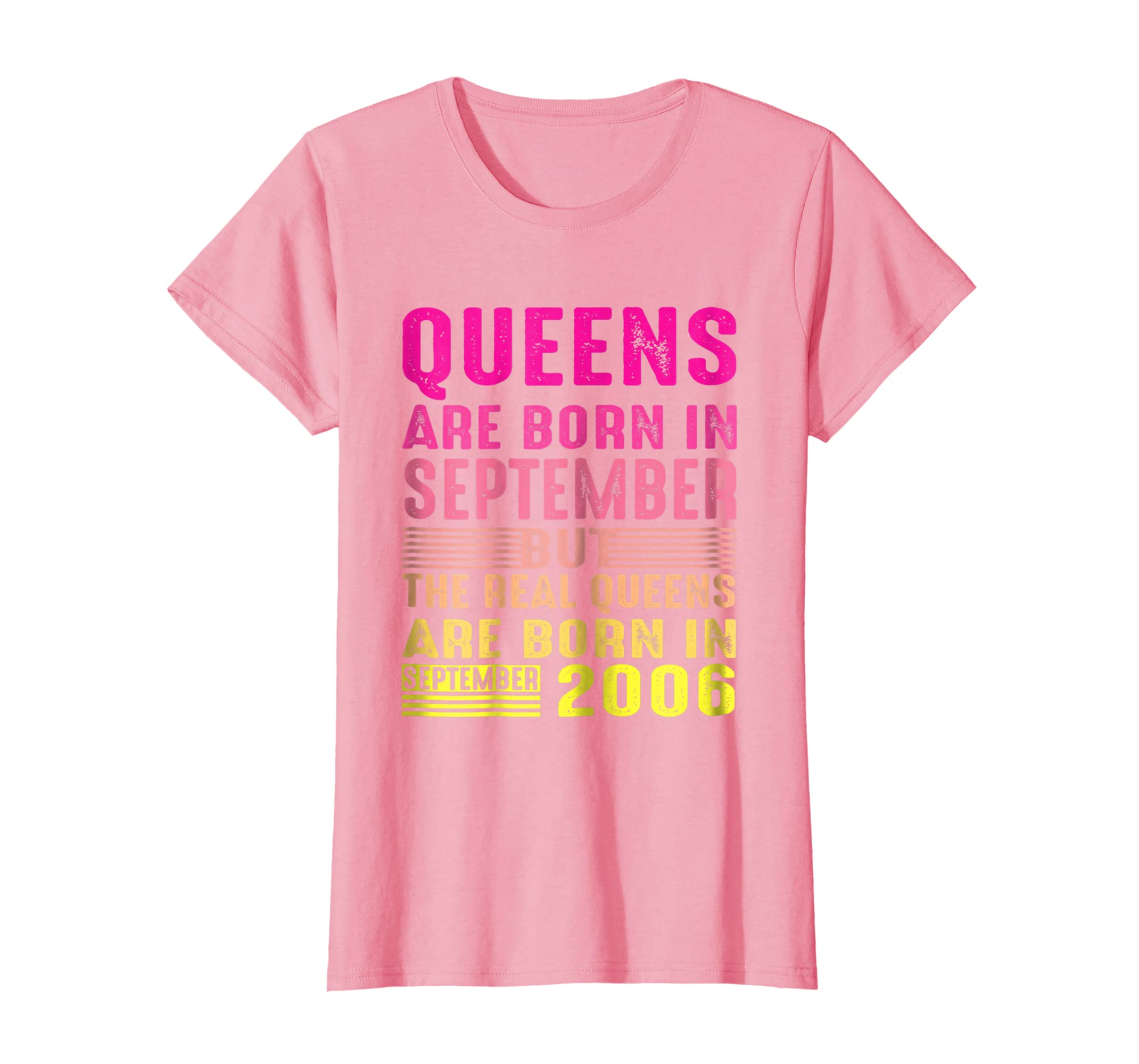 Womens September 2006 Retro Vintage 12th Birthday Shirt Decorations
