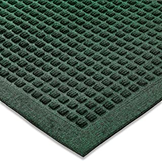 "Ecomills Rubber Doormat, Large, 36"" x 48"", Green, Large, Absorbent Indoor Outdoor Rug, Stain Resistant, Rubber Non Slip Ba..."