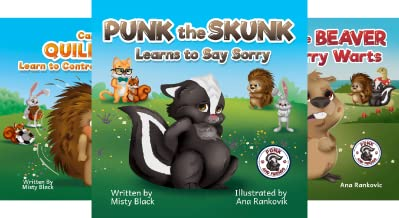 Punk and Friends Learn Social Skills (3 Book Series)