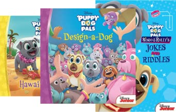 Disney Puppy Dog Pals (5 Book Series)