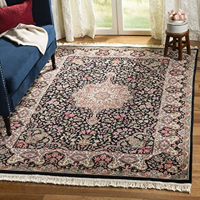 Safavieh Royal Kerman Collection RK3B Hand-Knotted Multicolored Wool Area Rug (6' x 9')