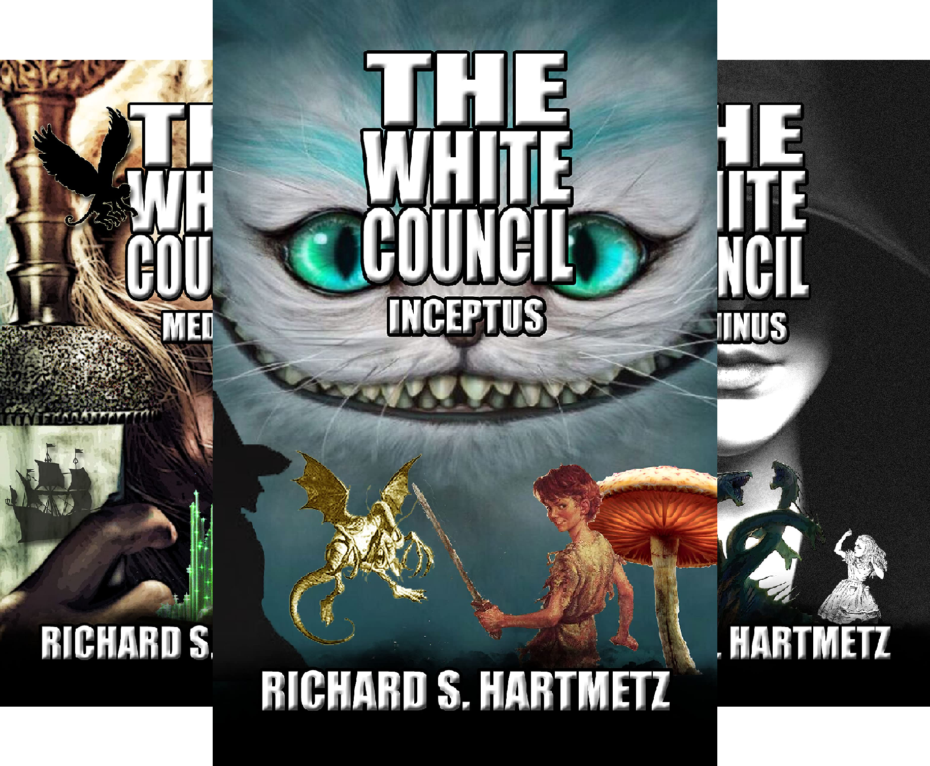 The White Council (3 Book Series)