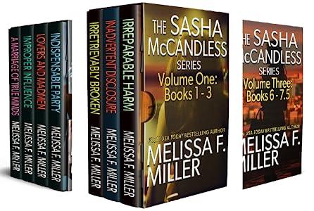 The Sasha McCandless Box Set Series