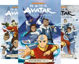 Avatar: The Last Airbender (3 Book Series)