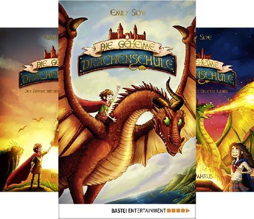 Die geheime Drachenschule (Reihe in 4 Bänden)
