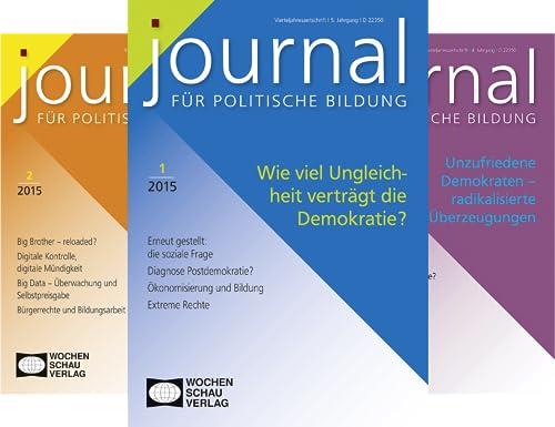 Journal für politische Bildung (Reihe in 20 Bänden)
