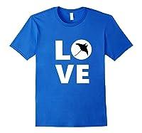 Manta Ray Tee Manta Ray Mama Manta Ray Dad Ocean Animal Gift Premium T-shirt Royal Blue