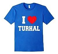 I Love Turhal T-shirt Royal Blue
