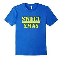 Sweet Xmas Love Harlem Shirts Royal Blue