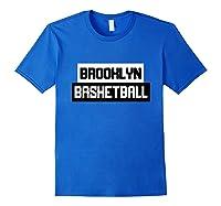 Brooklyn Basketball Style Fan Net Shirts Royal Blue