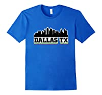 Dallas Texas Tx City Souvenir S Graphic S Gifts Shirts Royal Blue