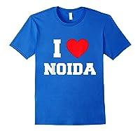 I Love Noida T-shirt Royal Blue