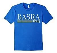 Basra Iraq Shirts Royal Blue