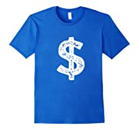 Dollar Sign Shirts Royal Blue