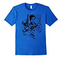 Beto O\\\'rourke On Cover Of Book Carried By The Scarecrow Shirts Royal Blue