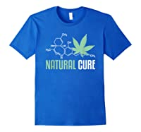 Natural Cure Cbd T-shirt Royal Blue