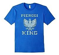 Pierogi King 2 Shirts Royal Blue