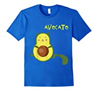 Avocato Funny Cute Cat Gift For Vegan Shirts Royal Blue