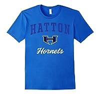 Hatton High School Hornets T-shirt C3 Royal Blue