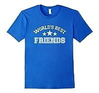 World\\\'s Best Friends T-shirt Royal Blue