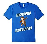 Dance Monkey T-shirt Royal Blue