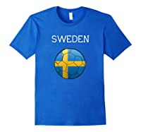 Sweden 2018 Soccer Fan, Swedish Football Shirts Royal Blue