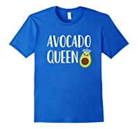 Themed Gift Girls Funny Queen Shirts Royal Blue