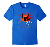 Share Love For And Shirts Royal Blue
