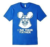 Fa Funny Sci Fi Movie Parody Shirts Royal Blue