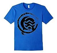 Nickelodeon The Legend Of Korra Bw Water Elet Logo Shirts Royal Blue