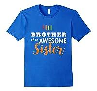 Proud Brother, Gay Pride Lgbt Shirts Royal Blue