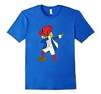 Funny Dabbing New England Football Shirts Royal Blue