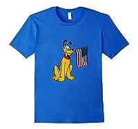 Pluto Americana Shirts Royal Blue