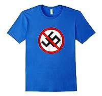 No 45 No Trump Anti Trump T-shirt Royal Blue