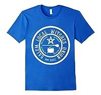 Salem Local Witches Union Est 1692 Halloween Shirts Royal Blue