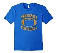 Tennessee Football Vintage Distressed Premium T-shirt Royal Blue