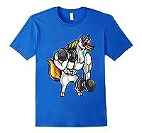 Weightlifting Ness Unicorn Shirts Royal Blue