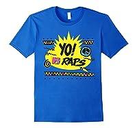 Mtv Yo! Raps Shirts Royal Blue