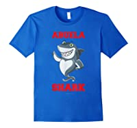 Abuela Shark Tshirts: Funny Spanish Gift T-shirt Royal Blue