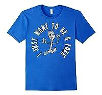 Pixar Toy Story 4 Forky I Don't Belong Poster Shirts Royal Blue