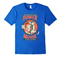 Tom And Jerry Power Mouse T-shirt Royal Blue