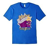 Epilepsy Warrior Shirt Blonde Girl Hero Tee Royal Blue