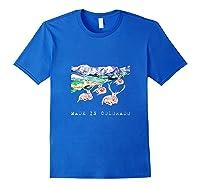 Made In Colorado Shirts Royal Blue