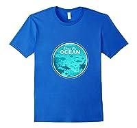 Heal The Ocean Premium T-shirt Royal Blue