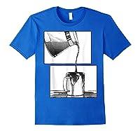 Manga Coffee Break Shirts Royal Blue