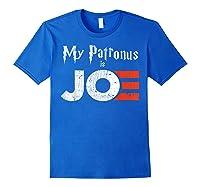 My Patronus Is Joe Biden Harris 2020 Voter Harry Fan Gift Shirts Royal Blue