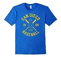 San Diego Baseball Vintage Padre Retro Gift Shirts Royal Blue