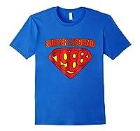 Super Legend 1988 Comic Hero - T-shirt Royal Blue