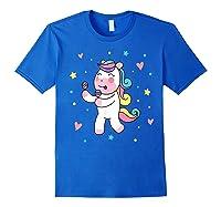 Cute Unicorn, Gift For Unicorn Lover Unicorn Lover Gift Shirts Royal Blue
